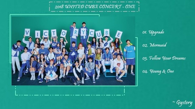 2018 United Cube One Concert Ep 2 Cover