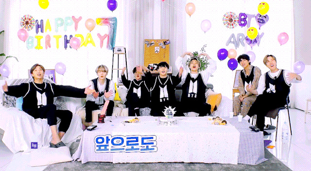 BTS Birthday Party Ep 1 Cover