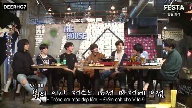 BTS Dinner Party Ep 1 Cover
