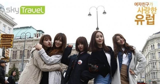 GFriend Loves Europe Ep 8 Cover