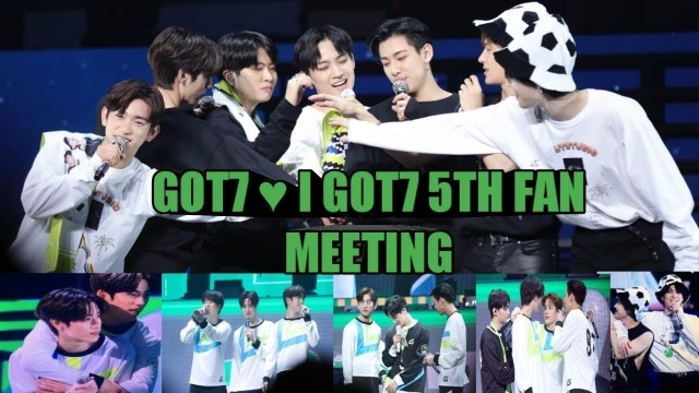 GOT7 5th Fanmeeting Ep 1 Cover