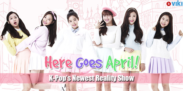 Here Goes April Ep 1 Cover