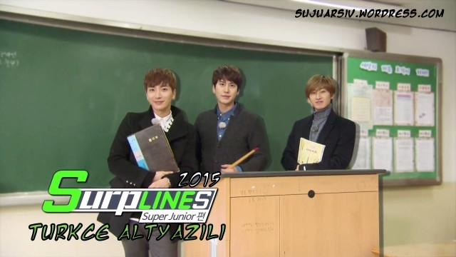 LINE TV Surplines Super Junior Ep 1 Cover