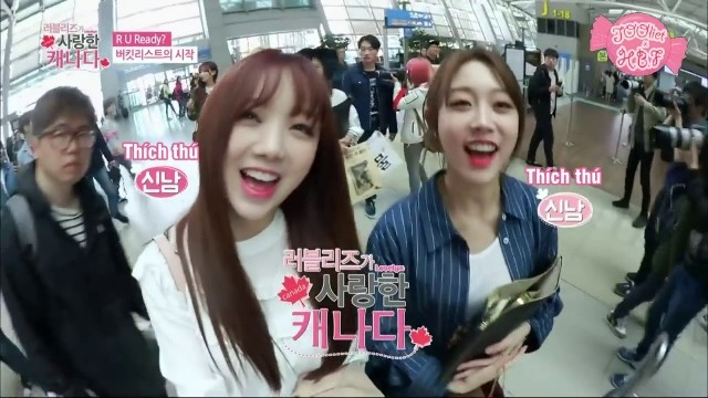 Lovelyz Loves Canada Ep 4 Cover