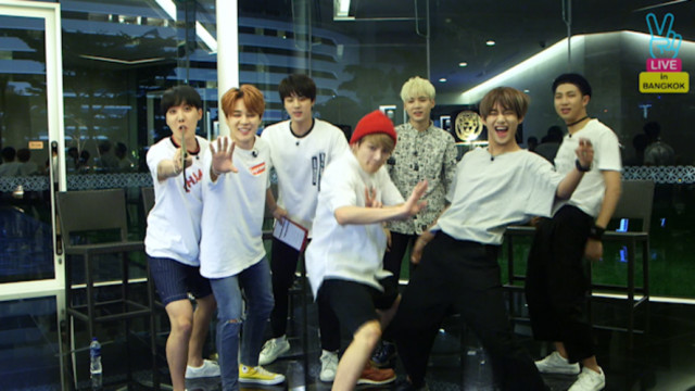 Run! BTS Live in Thailand Ep 1 Cover