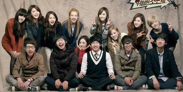 SNSD And The Dangerous Boys Ep 11 Cover