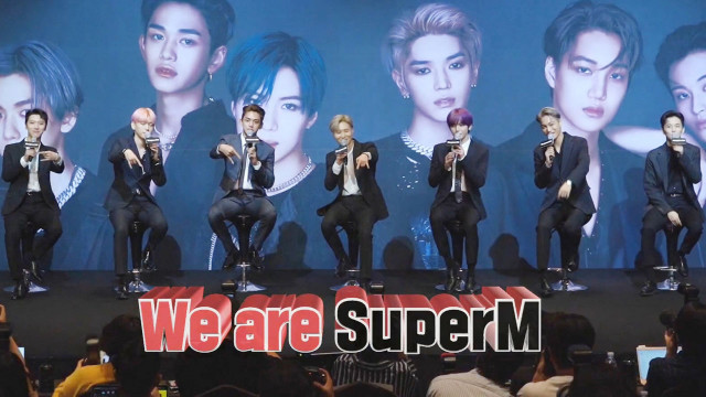 Super M: The Beginning Ep 1 Cover