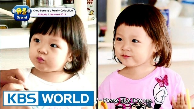 The Return Of Superman - Choo Sarang Special Ep 39 Cover