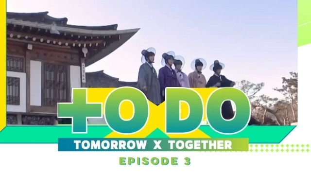 To Do X TXT Ep 8 Cover