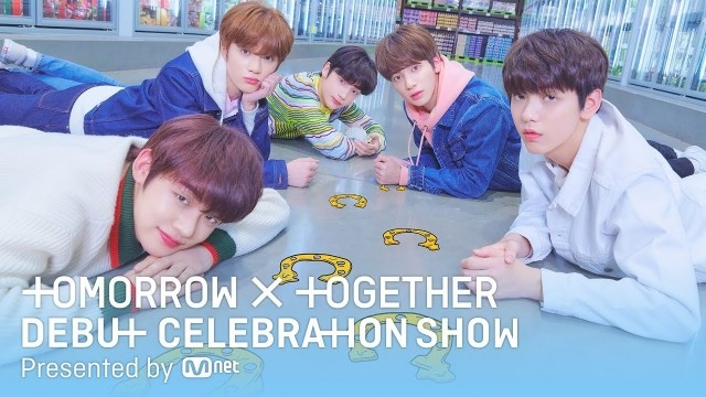 TOMORROW X TOGETHER Debut Celebration Show Ep 1 Cover