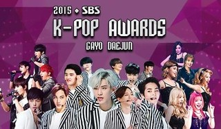 2015 SBS K-Pop Awards Episode 1 Cover