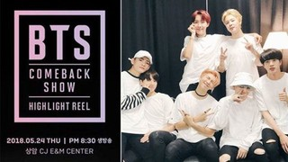 2018 BTS Comeback Show Episode 1 Cover