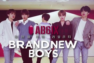 AB6IX Brand New Boys cover