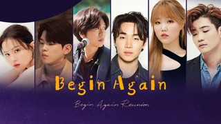 Begin Again Reunion cover
