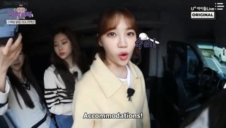 Behind the Scene - IZ*ONE Eat-Ing Trip cover