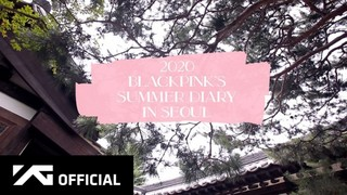 BLACKPINK Summer Diary in Seoul cover