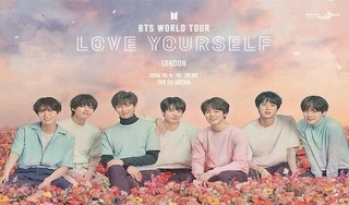 BTS WORLD TOUR LOVE YOURSELF: WEMBLEY cover