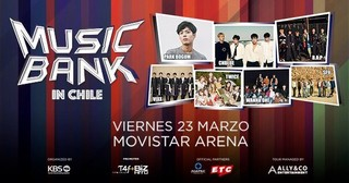 Music Bank In Chile cover