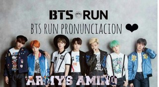 Run BTS cover
